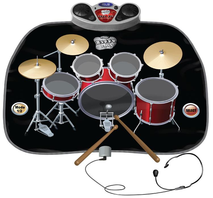 Drumkit speelmat drummen met licht en geluid