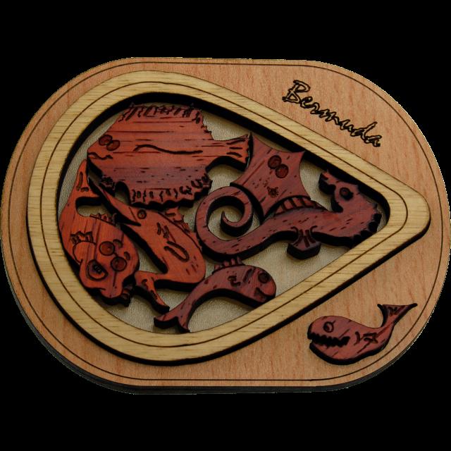 Bermuda 3d puzzel