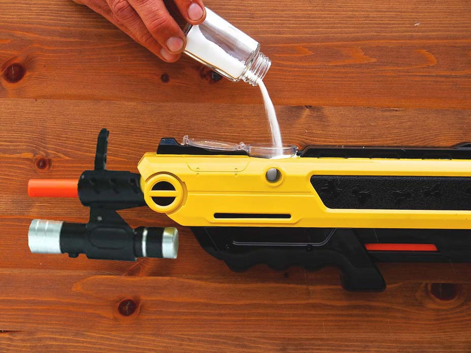 Bugbuster zoutgun