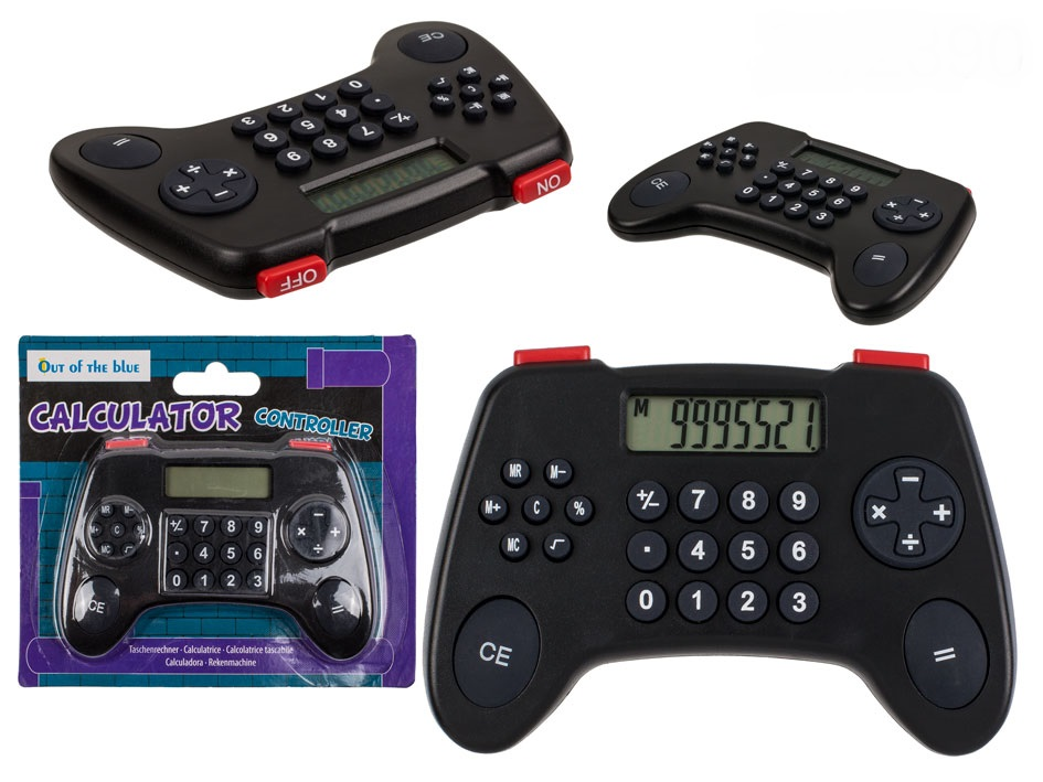 Calculator gamepad