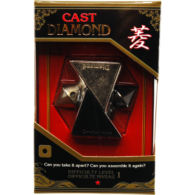 Cast diamond