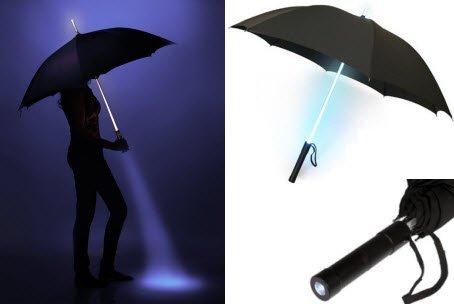 Paraplu met leds
