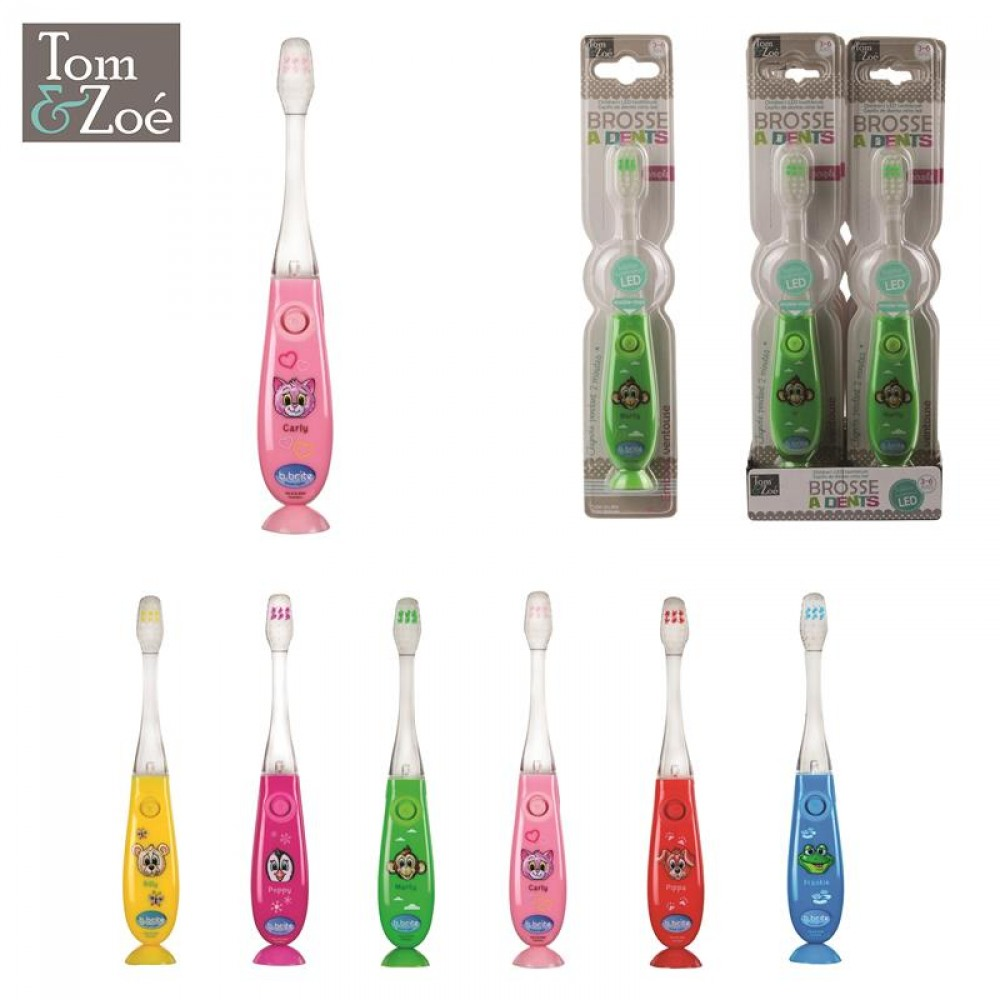 Kinder tandenbostel met ledlicht