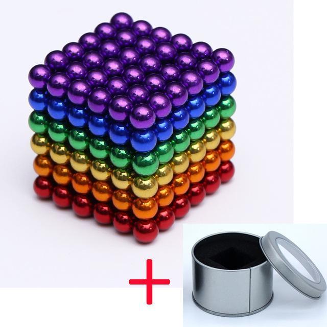 Magneetballetjes in verschillende kleuren