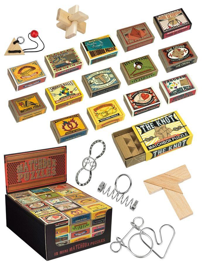 Matchbox puzzels