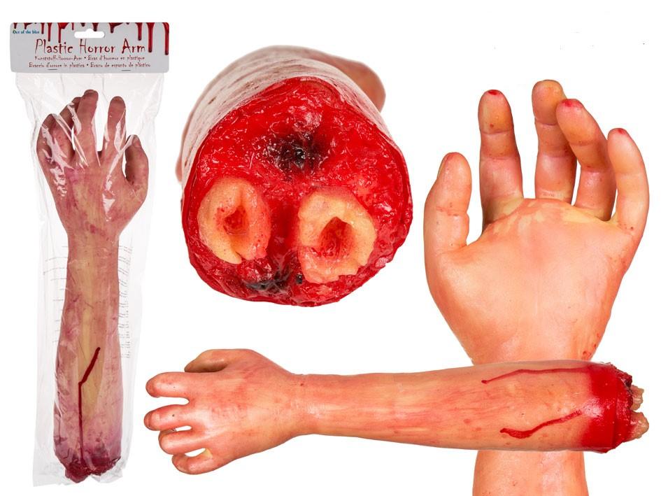Horror nep arm
