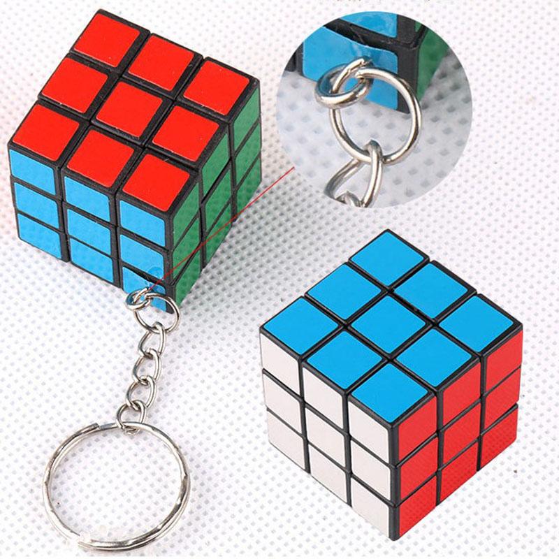Sleutelhanger rubiks kubus