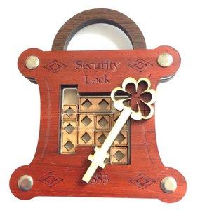 Tricklock puzzel hout