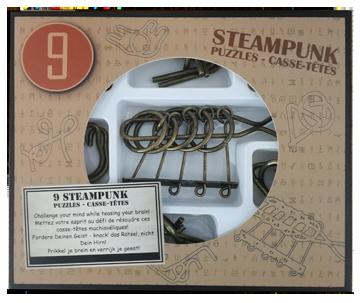 Steampunk puzzel