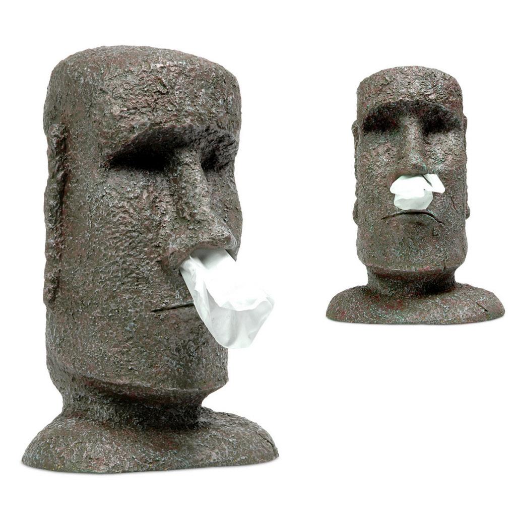 Magnifiek Tissue houder Moai #VH17