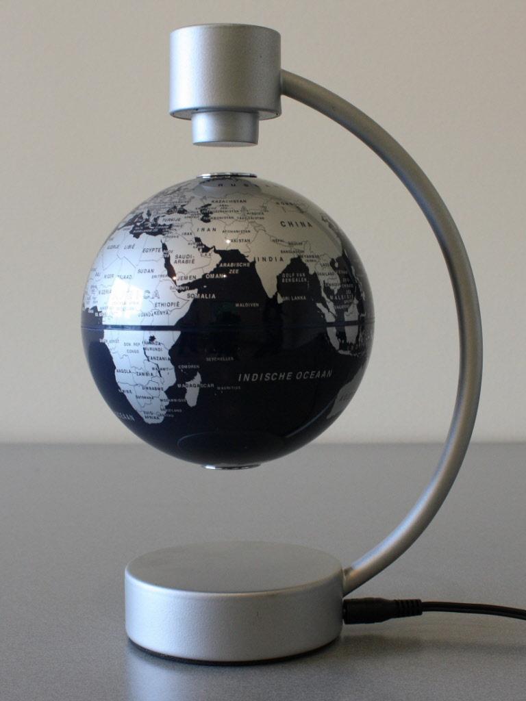 Zwevende wereldbol