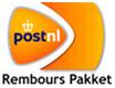 Rembours verzending via post NL