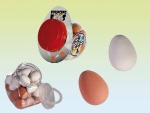 Stuiter eieren rubber