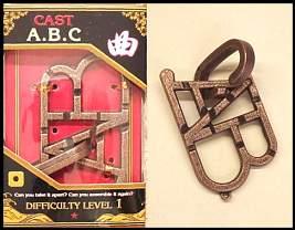 ABC 3d puzzel
