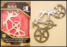 3d puzzel Bike