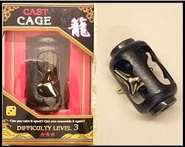 3d puzzel Cage