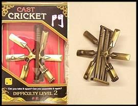 3d puzzel Cricket