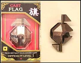 3d puzzle Flag