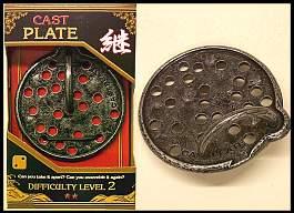 Plate 3d puzzel