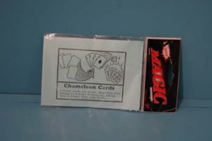 Chameleon cards trick