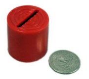 Devils coin bank