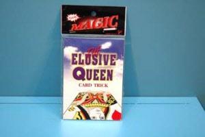 Elusive queen card trick