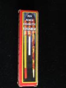Potlood. pen of sigaret verdwijner