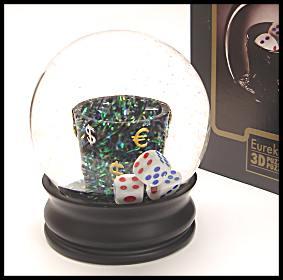 Snowglobe pokercup
