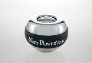 Superpowerball met verchroomd staal