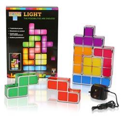 Tetris mood lamp